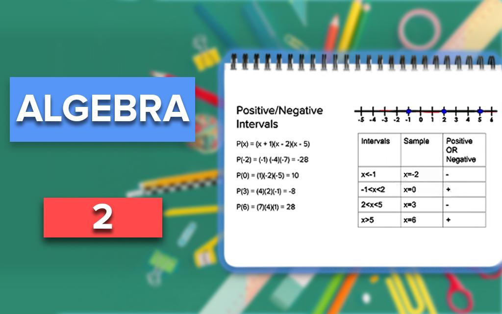 Foundations of Algebra 2