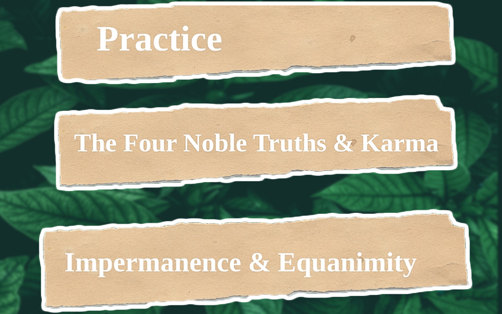 Cultivating Healthy and Stress-Free Study Skills Using Buddhist Practices