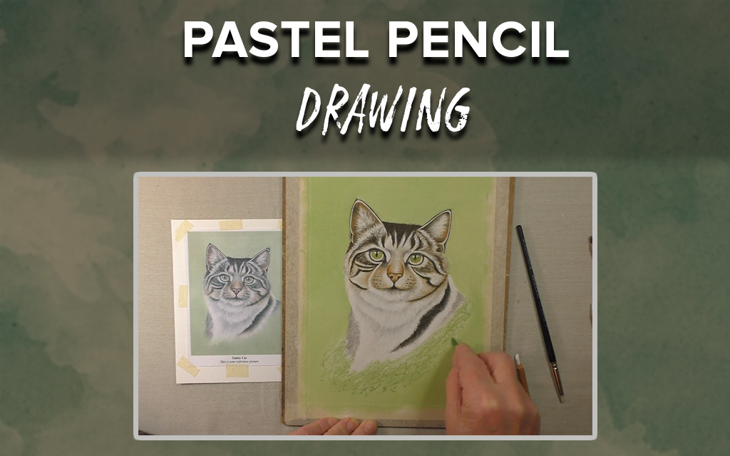 Pastel Pencil Drawing: Learn to Draw a Tabby Cat
